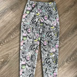 Marvel character pants. Girls size small